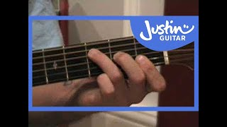 Down & Out - Eric Clapton #1of2 (Songs Guitar Lesson ST-202) How to play