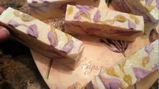 Limitted Edition Love Me Lavender Valentines Day Organic Soap By Sunshine Secret Garden Thumbnail