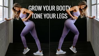 LEAN AND TONE Leg Workout Using NO MACHINES!
