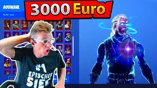I SHOW the 3000€ Fortnite account from my ZUSCHAUER!