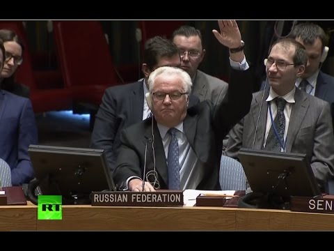Russia, China veto UNSC resolution on Aleppo ceasefire (Streamed live)