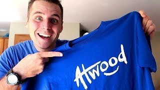 Atwood Merch! Unboxing the T-Shirts