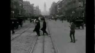 Trip Down Market Street days before the Earthquake, S.F., CA 1906 (FULL VERSION)
