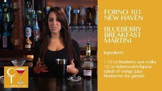 Forno101 New Haven - Blueberry Breakfast Martini