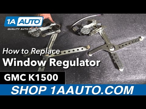 How to Replace Window Regulator 88-99 GMC K1500