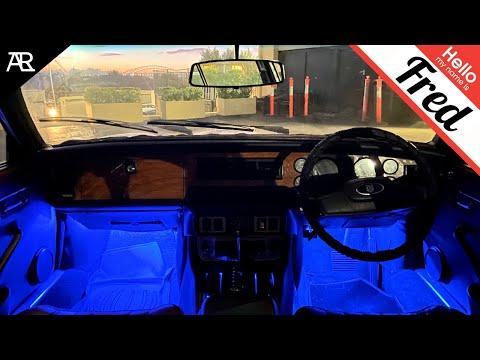 """""""Fred"""" The 1982 Jaguar Gets LED LIGHTS (DIY Install)"""