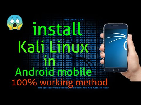 How to install Kali nethunter in any phone without root [100