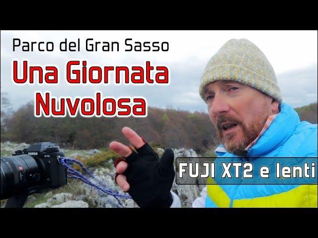 Una giornata nuvolosa nel Parco Nazionale del Gran Sasso - Fuji XT2 con XF14mm F2.8 XF50-140mm F2.8