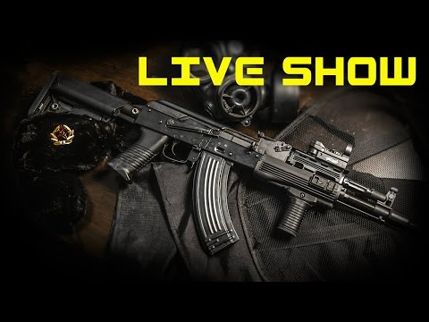Veterans Day, A.A.R. Ford Ord Firefight LIVE SHOW!!! - Airsoft GI