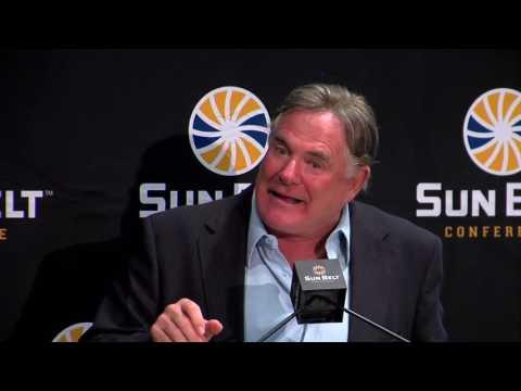 2016 Sun Belt Conference Football Media Day: Coastal Carolina Head Coach Joe Moglia