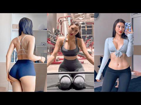 Trang Lê Gymer – Trang Lê Fitness – Sexy Vietnamese Girl | Sexy body in Gym
