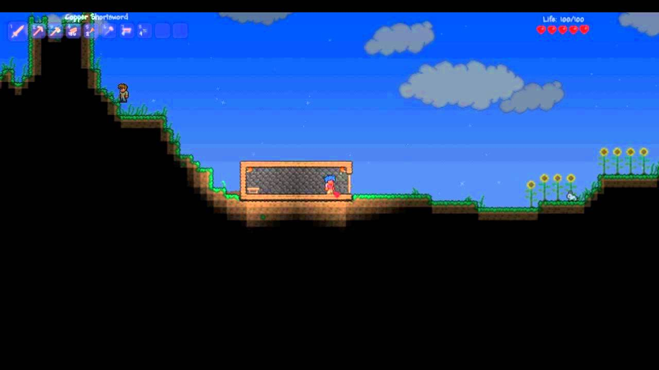 sc 1 st  YouTube & Terraria Newbie Tutorial - How to open and close doors - YouTube pezcame.com