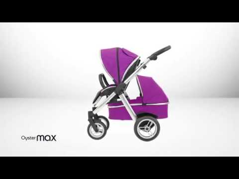 Oyster Max tandem Stroller From Babystyle