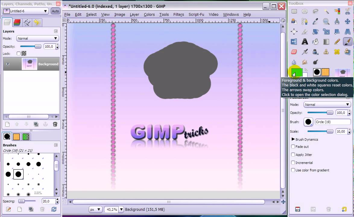 GIMP Basics 2 - troubleshooting - When tools don't work