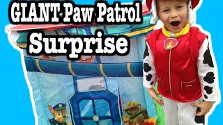 GIANT Paw Patrol SURPRISE Tent, BIGGEST Paw Patrol Surprise Toy Video by EpicToyChannel