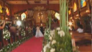 God Gave me YOU♥ Franz and Sheena Wedding