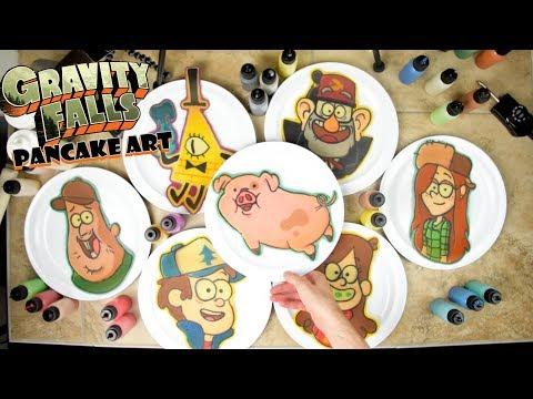 Gravity Falls Pancake Art