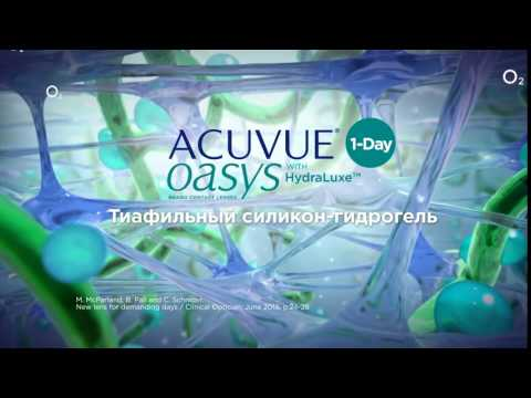 Acuvue OASYS 1-Day HydraLuxe Technology (30 линз)