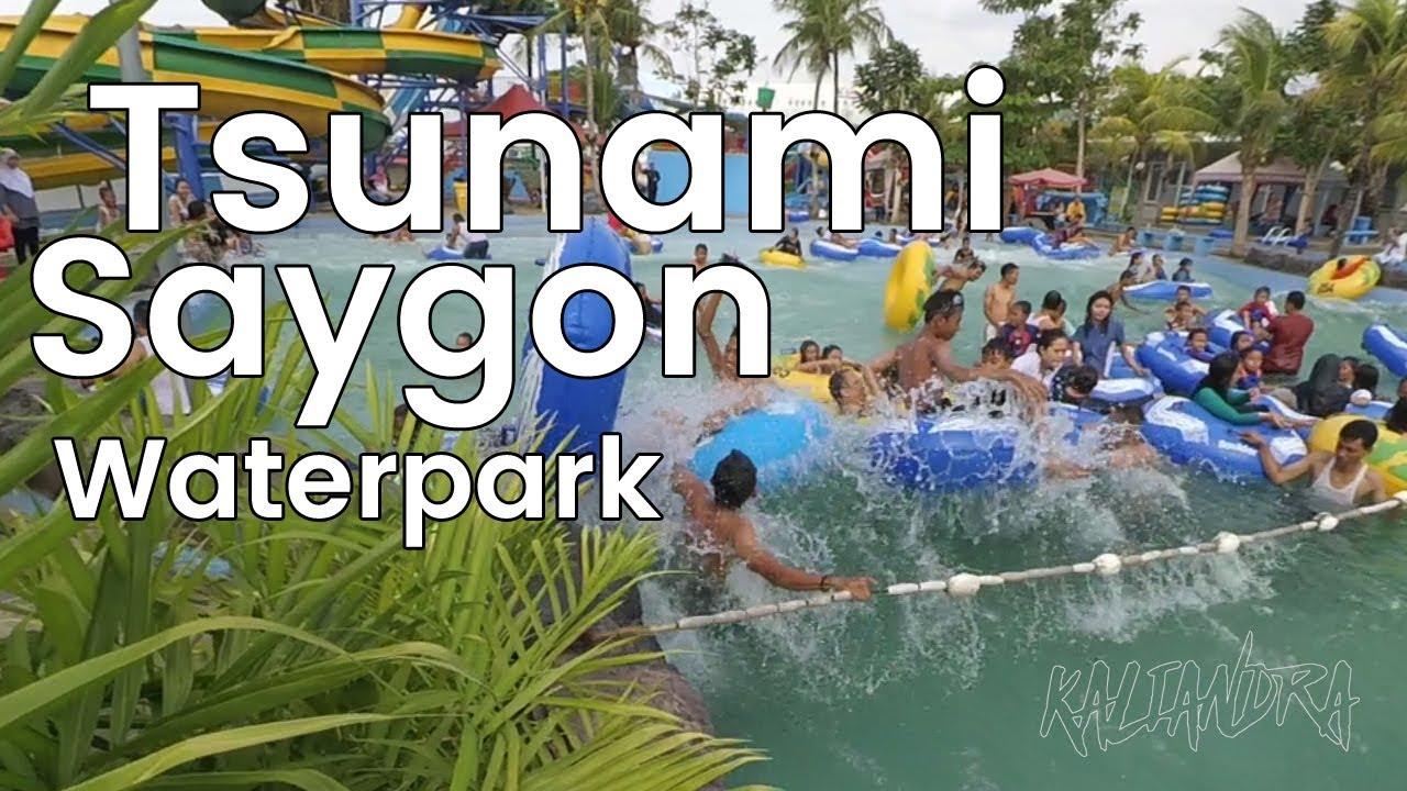 Tsunami Di Saygon Waterpark Pasuruan