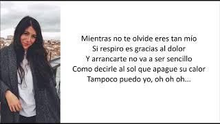 Bely Basarte - Mientras Tanto (Letra)