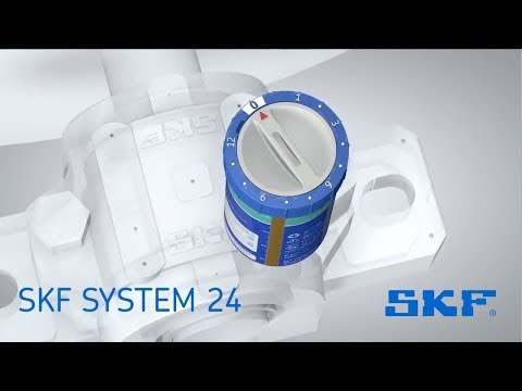 SKF SYSTEM 24 Gas driven single point automatic lubricators