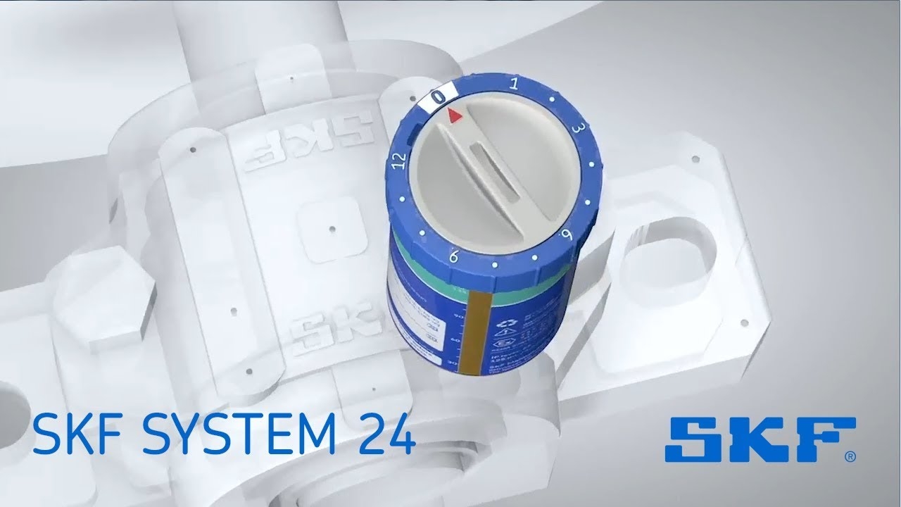 SKF SYSTEM 24 single point automatic lubricator
