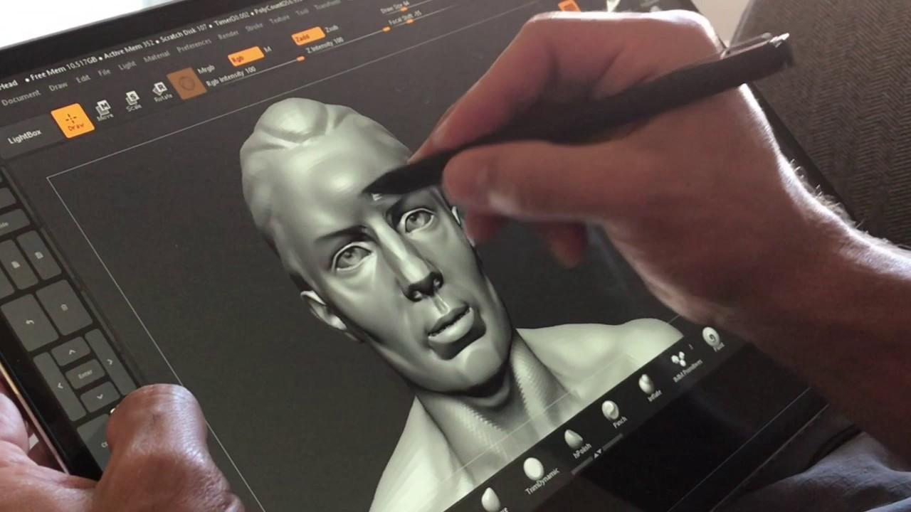 Zbrush - Yoga 720 - Wacom AES - Bamboo ink pen - Tablet Pro