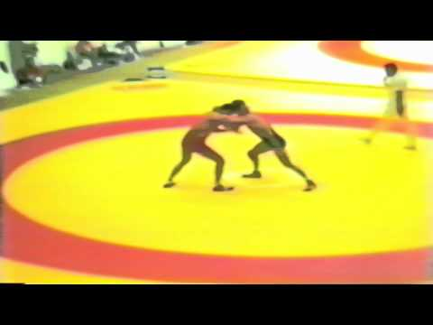 1987 Senior World Championships: 100 kg Leri Chabelov (USSR) vs. William Scherr (USA)