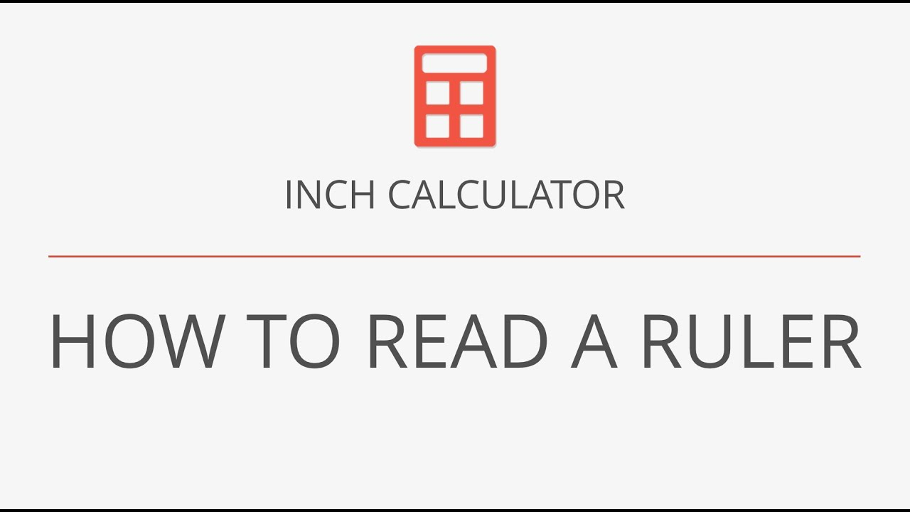 How to Read a Ruler - YouTube