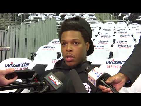 Kyle Lowry Interview Before Game 3 vs Wizards   April 20, 2018
