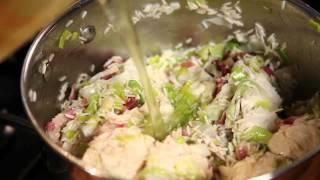 Paul Flynn Family Favourites 2014- Recipe Video Chicken, Bacon & Leek Pilaf