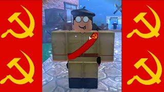 Conocer a un comunista en Roblox
