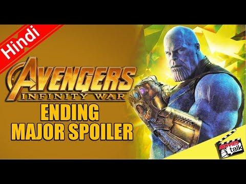 Avengers Infinity War ENDING MAJOR SPOILER...