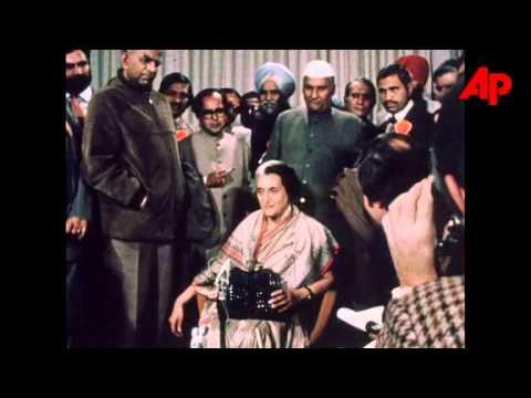 Smt Indira Gandhi's visit to London 11/12/1978