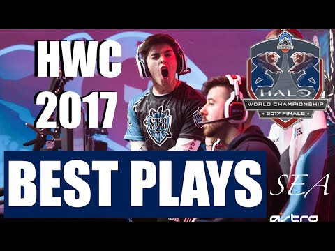 Halo World Championship 2017 Highlights Collection - Greatest Plays & Moments