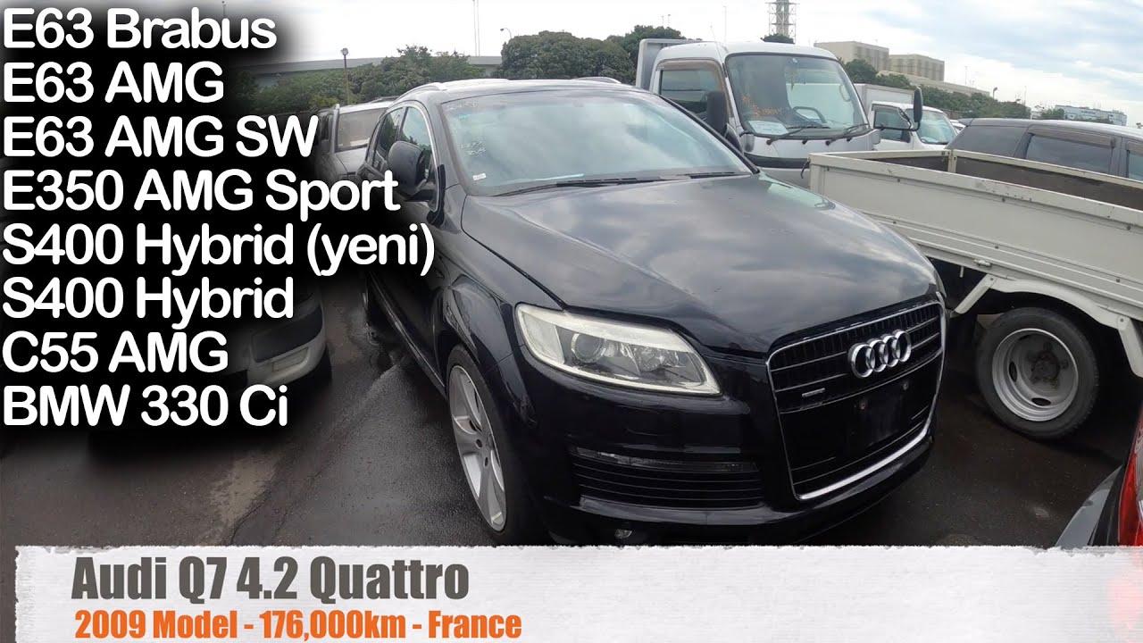 4,900 EURO'ya AUDI Q7 ve Daha Fazlası! Müşterilerimizin Araçları, Yard Günü | Japonic Trade