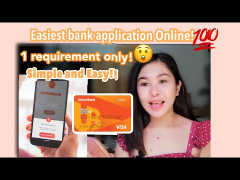 UNION BANK step by step Open an account online! Easiest way! 💯