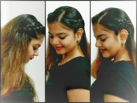 Accent braids| Easy Hairstyle Tutorial | Pals Hair Vlog