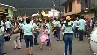 Carnaval de coacoatzintla aguilas marching band