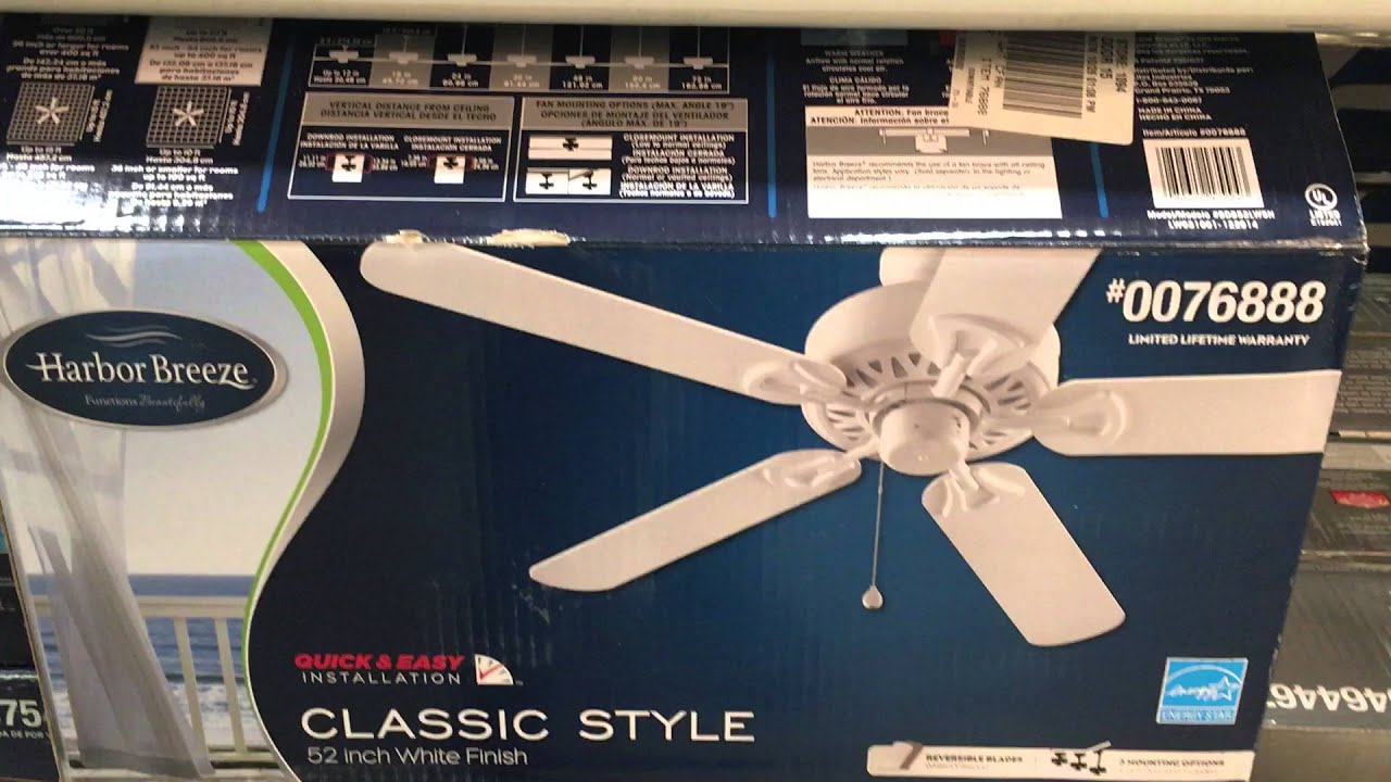 Ceiling Fans at Lowes 2016