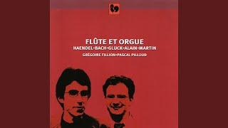Trois mouvements pour flûte et orgue: II. Allegro con grazia