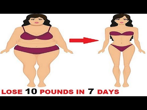 How to Lose Weight and Belly Fat Fast Without Exercise,  Lose Belly Pouch Fast At Home