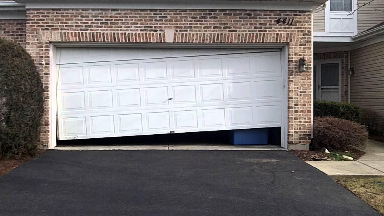Image Result For How To Fix A Broken Spring On A Garage Door