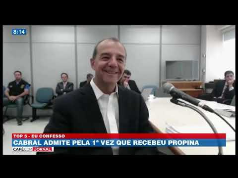 Sérgio Cabral confessa que recebia propina no seu governo