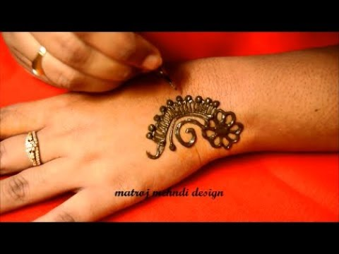 Very Easy Simple Mehndi Henna Designs For Hands Easy Mehndi Designs