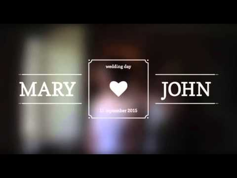 Wedding Titles Free Download After Effect Projects And Templates - Adobe after effects title templates