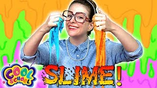 How To Make SLIME & GALAXY SLIME | A Cool School Craft With Crafty Carol