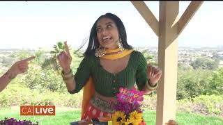 NBC CA Live Celebrates Holi with DAH! and Drink Tea India!