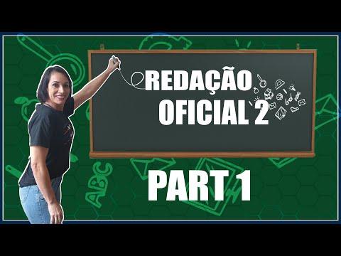 REDAÇÃO OFICIAL 1 PART 5 || Prof: Luciana Tavares from YouTube · Duration:  4 minutes 55 seconds