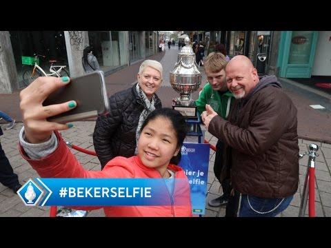 De KNVB Beker on tour: Een selfie met de beker!